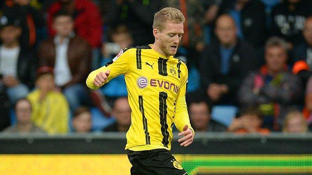 8. Andre Schürrle - Borussia Dortmund