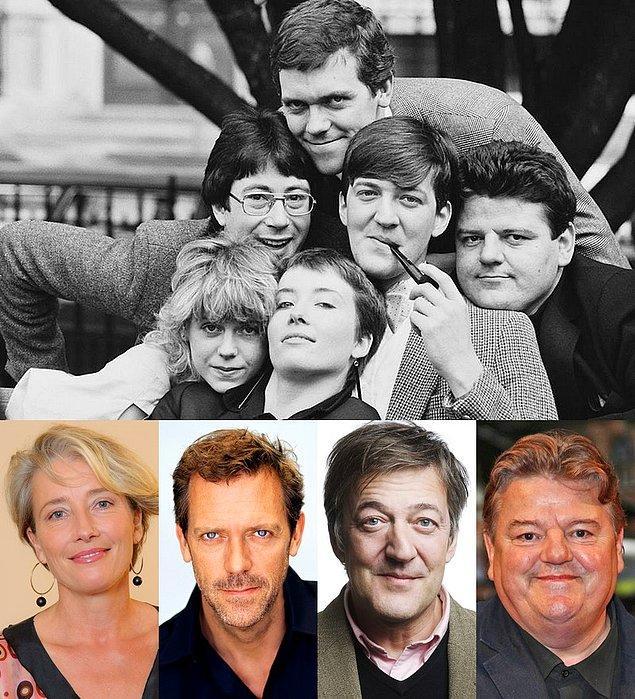 19. Sırasıyla Emma Thompson, Hugh Laurie, Stephen Fry ve Robbie Coltrane (Hagrid) arkadaşlığı üniversite yıllarına dayanıyor.