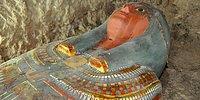 Mısır'da Çok İyi Korunmuş Durumda Yaklaşık 2500 Yıllık Bir Mumya Bulundu