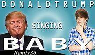 Donald Trump'a Justin Bieber'ın 'Baby' Şarkısını Söylettiler