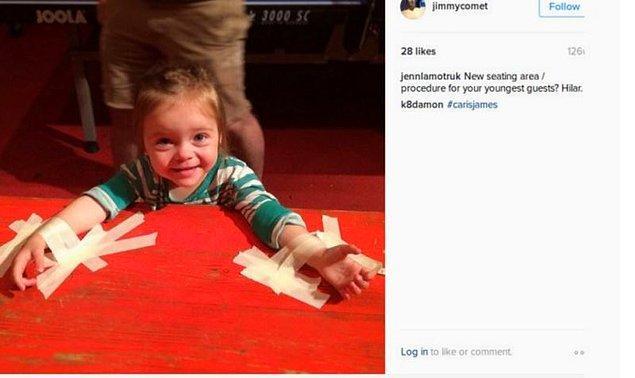 Şunlar da Comet Pizza'nın sahibi James Alefantis'in Instagram'ından pedofili iması içeren kimi fotoğraflar: