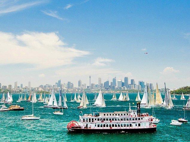 4. Sidney, Avustralya