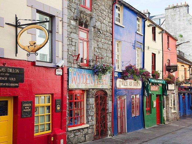 7. Galway, İrlanda