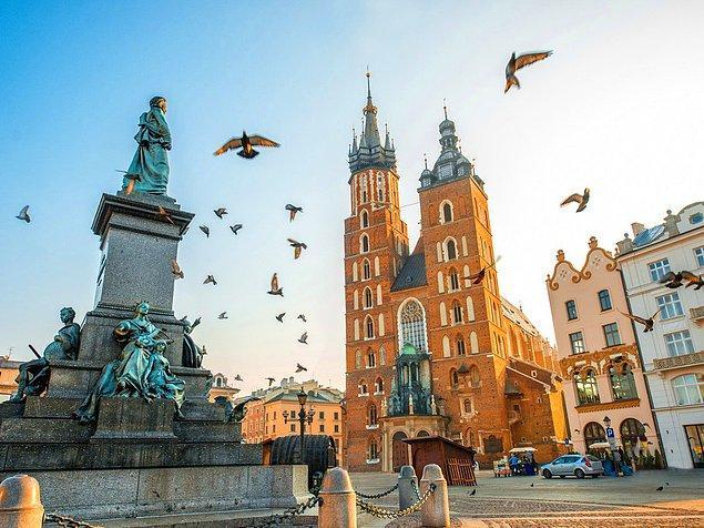 9. Krakow, Polonya