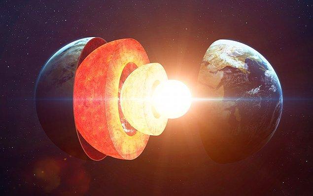 1. Dünyamızın çekirdeği soğuyabilir.