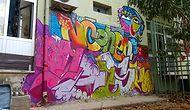 Ege Kıyılarında Terkedilmiş Duvarları Sanatıyla Süsleyen Sokak Sanatçısından 9 Çalışma