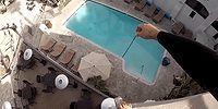 Gece Gündüz Demeden Çatılardan Ölümüne Havuza Atlayan Çılgın Genç