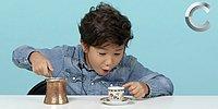 Amerikalı Çocuklar Dünya Kahvelerini Tadıyor!