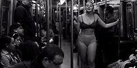Büyük Beden Model Olan Iskra Lawrence Metroda Soyunarak Konuşma Yaptı