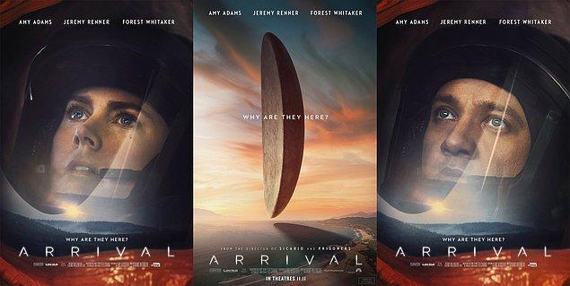 Açıkçası bir gün böyle bir 'geliş' olursa aklıma ilk gelecek film Arrival olacaktır, olmalıdır.