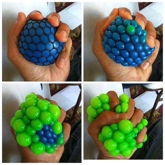3. Stres topu olmanın hakkını sonuna kadar veren bu güzellik!