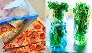 Mutfakta Bozulmaya Mahkum Olan Yiyeceklerinizi 17 Pratik Saklama Yöntemi