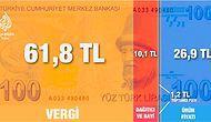 Dolar Düşmüyor, Vergiler Roket! 21 Maddeyle Cebimizden Çıkan Akıl Uçuran Vergi Tutarları