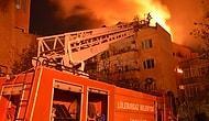 Yangında Mahsur Kalınca Çocuğunu 5. Kattan Atmak Zorunda Kalan Anne