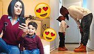 Anne-Babasıyla Aynı Giyinip Şirinliğine Şirinlik Katan 18 Minnoş Çocuk