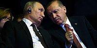 Erdoğan ve Putin'den 'El-Bab' Görüşmesi