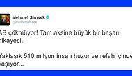 Mehmet Şimsek'in AB Tweetleri Gündem Yarattı, Tepkiler Çarpıştı
