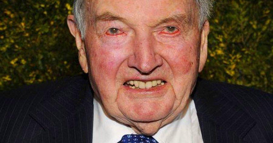 Adı Sık Sık İllüminati İle Anılan, Tarihi Karanlık David Rockefeller Hayata Gözlerini Yumdu! - onedio.com