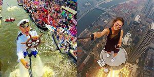Ön Kameralar Açılsın! 2016 Yılının İnsanları Şaşkına Çeviren, Göz Alıcı 21 Selfiesi