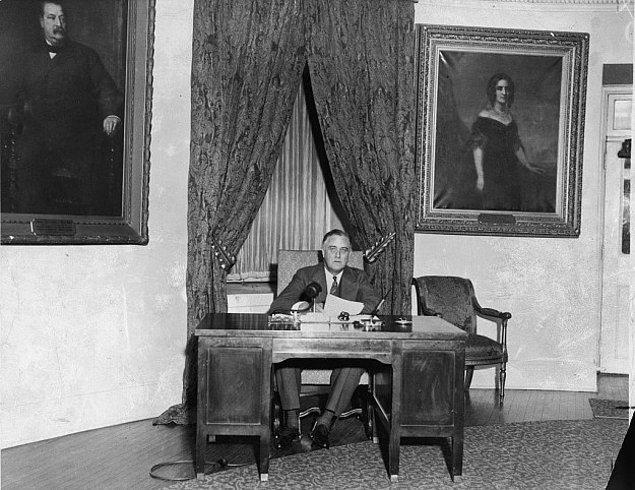 11. Franklin Roosevelt 1933 yılında taşındığında, Washington, D.C.'deki tekerlekli sandalye dostu ilk hükumet binalarından biri oldu.