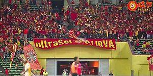 Ta Ebesinin Nikahından Gelip Galatasaray'ın Tezahüratını Araklayan FA Selangor Takımı