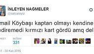 İsmail Köybaşı'nın Fenerbahçe'de Kaptan Olup 10. Dakikada Kırmızı Görmesine İsyan Eden 19 Taraftar
