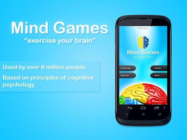 5. Mind Games'in size ne zaman zihin idmanı yapmanız gerektiğini hatırlatan bir fonksiyonu da var.