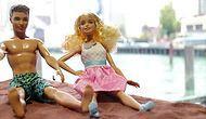 Su Jetiyle Ortadan İkiye Ayrılan Barbie Ve Ken