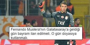 Muslera Kurtardı, Galatasaray Kazandı! Kasımpaşa - Galatasaray Maçıyla İlgili Yapılmış 17 Paylaşım