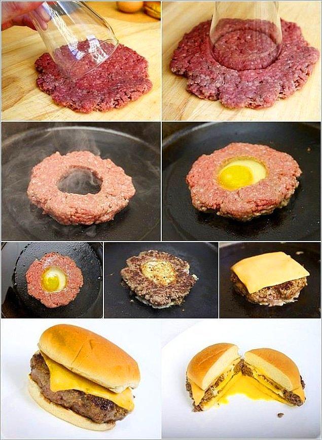 6. Hamburgerlere bir anlam katmanın zamanı gelmişti.