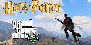 GTA 5 Moduyla Sokakların Sert Çocuğu Olan Harry Potter