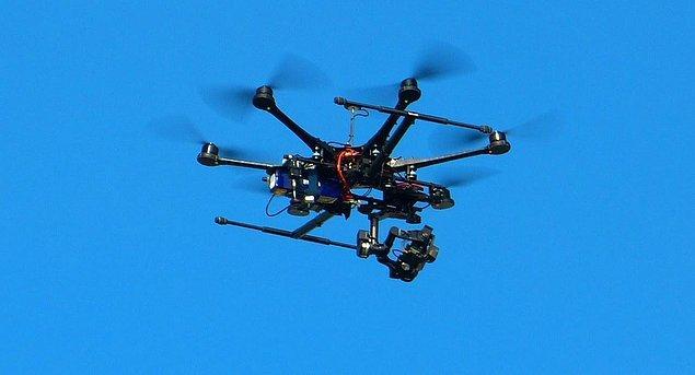 Uygulamayı geliştirmek için dronelar kullanılacak!