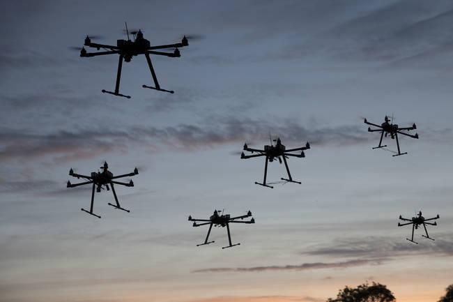 sürü drone ile ilgili görsel sonucu