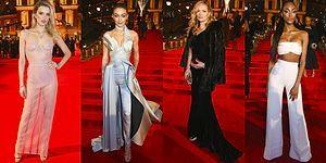Kırmızı Halı Alarmı: İngiliz Moda Ödülleri'nin Şık ve Rüküşlerini Seçiyoruz!