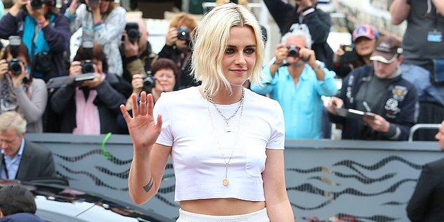 17. Saçınızı sarıya boyatarak 1 saatte 10 yıl yaşlanın! İşte Kristen Stewart!