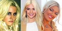 Sarışın Olunmaz, Doğulur! Sarışın Olmaya Heves Edip Korkunç Sonuçlara Ulaşan 18 Ünlü