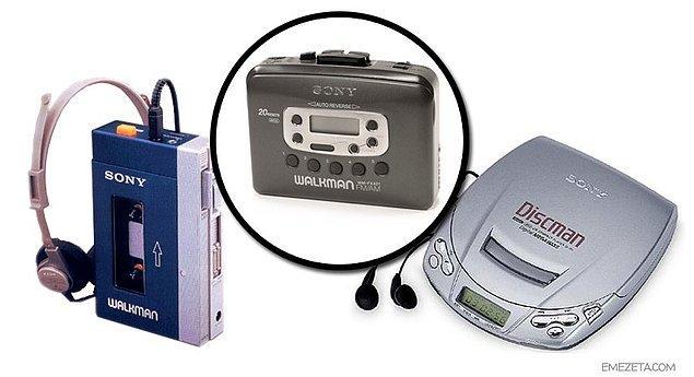 12. Walkman ve Discman