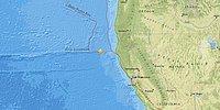 Kuzey Kaliforniya'da 6.8 Büyüklüğünde Deprem