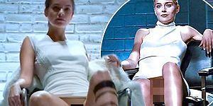 Temel İçgüdü'deki Efsane Bacak Bacak Üstüne Atma Sahnesini Barbara Palvin'den İzliyoruz!