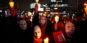 Haftalardır Protesto Edilen Güney Kore Devlet Başkanı Görevinden Uzaklaştırıldı