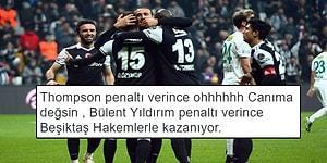 Cenk Attı, Kartal Kazandı! Beşiktaş - Bursaspor Maçının Ardından Sosyal Medyaya Yansıyanlar