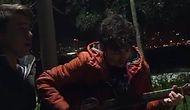 Gitar Çalarken Tesadüfen Vodafone Arena Yakınındaki Patlama Anını Kaydeden Gençler