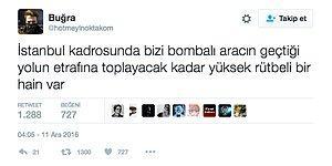 Patlama Anında Beşiktaş'ta Olan Polis Memurunun Attığı Tweetler Akıllarda Soru İşareti Yarattı!