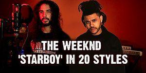 The Weeknd'in 'Starboy'una 20 Farklı Tarzda Dokunuş