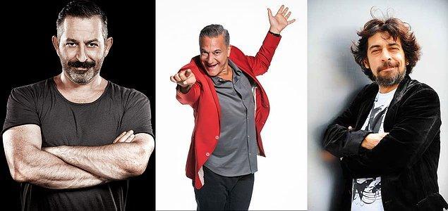 Cem Yılmaz, Mehmet Ali Erbil ve Okan Bayülgen'e dördüncü olmalısın!