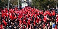 Türkiye Teröre Tepki İçin Yürüdü