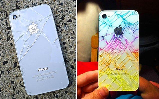 15. Kırık iPhone ekranları için fosforlu kalemler ideal.