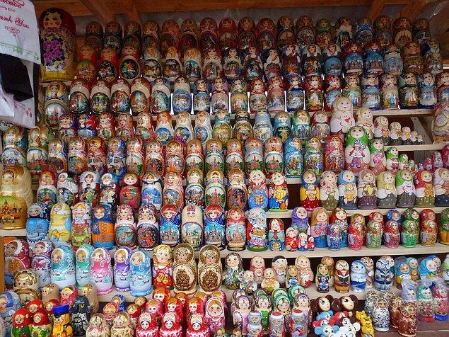 13. Matruşka cenneti: The Izmailovsky Market, Moskova