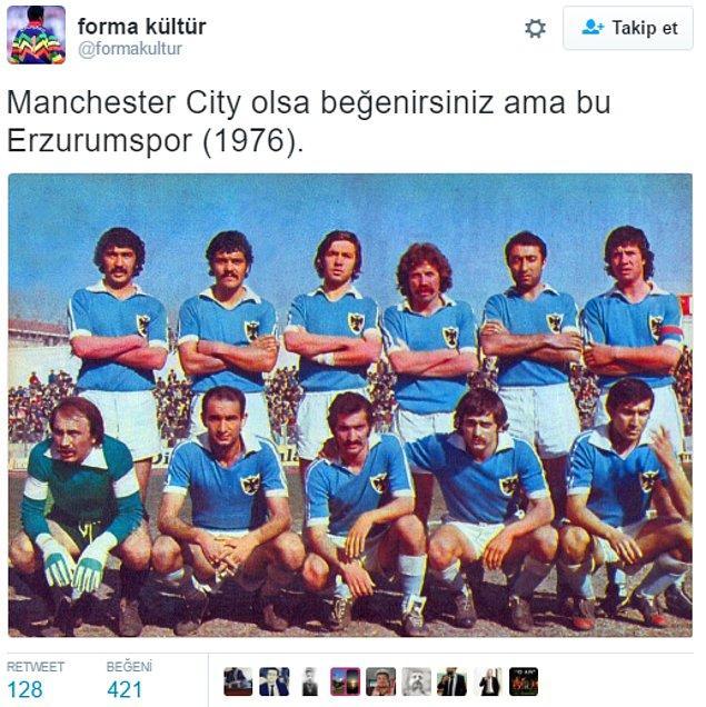 "1. Erzurumspor'un ""Manchester City"" olduğu dönemler"