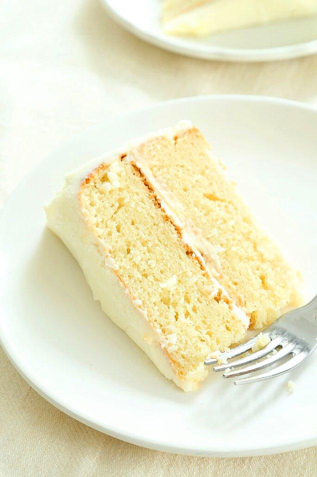 7. Dünyanın en yumuşak kekiyle devam ediyoruz..